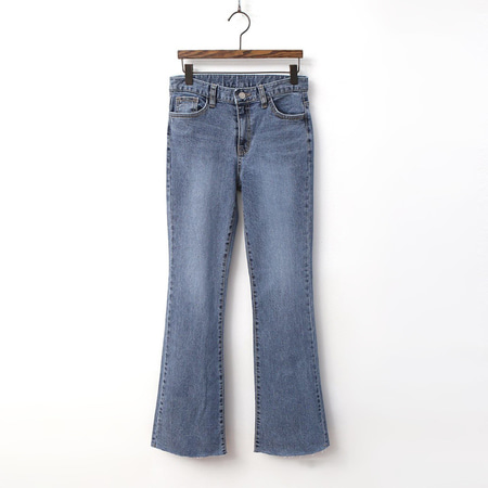 Bell High Rise Flare Jeans