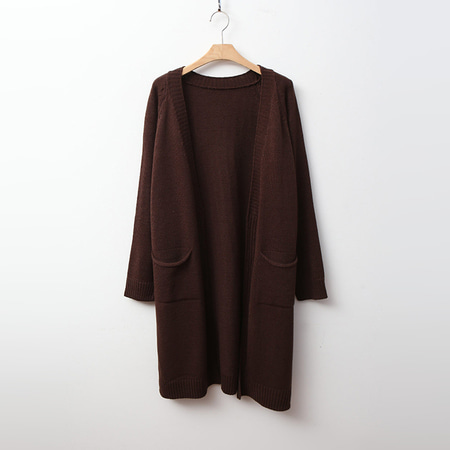 Closet Open Long Cardigan