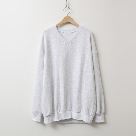 Soft V-Neck Sweatshirt